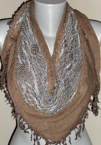 8c1e2097b5d Moderní šátek trojcípý
