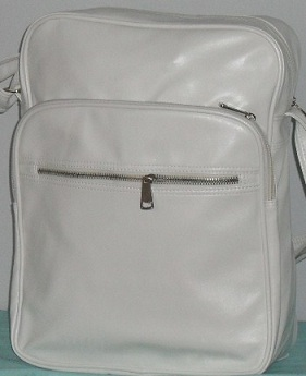 Kabelka listonoška, Bag Crossbody, 3801 white