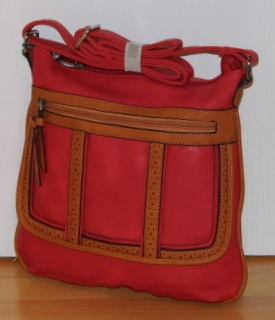 Kabelka Bag Crossbody, KX2019 red