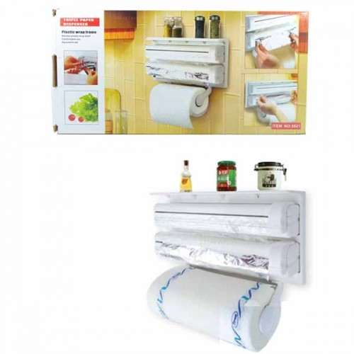 Triple Paper Dispenser 3 in 1