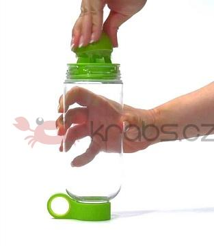 Citrus Water Bottle 800 ml, green